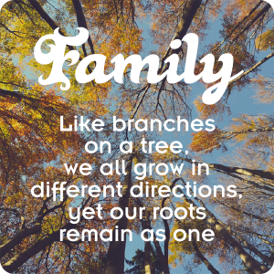 Family - Like Branches On A Tree